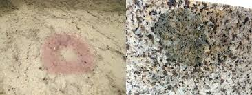 granite countertop stain smells like food in here clean rust stain from granite
