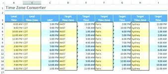Standard Military Time Conversion Chart Zone Converter Calculator ...