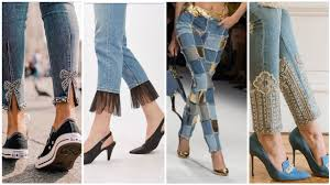 New Jeans Design For Girl 2019 Latest And Stylish Jeans Designs For Girls 2019 World Famous Jeans Capri Designs