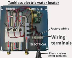 how to wire tankless electric water heater larger image
