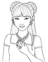 beautiful girl coloring pages. Contemporary Girl Beautiful Girl Coloring Pages Vector 1578018 Pin Up Book Free  Luxury Of  Throughout