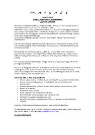 Retail Visual Merchandiser Resume For Study Merchandising Examples