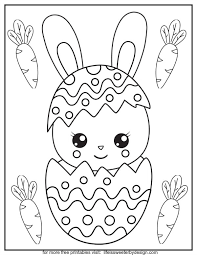 Did you know that easter is not the same time every year? Easter Color Pages Life Is Sweeter By Design