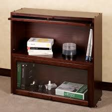 aubrie cherry bookcase with glass doors and astounding barrister bookcase design with glass door for your home office ethan allen bookcase barrister