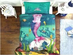 little mermaid twin bed set little mermaid bed set little mermaid bedding set full size little mermaid double duvet set little mermaid bed set
