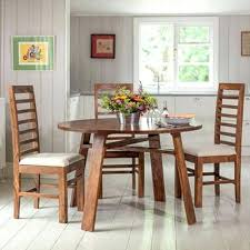 stowaway dining table set with 4 chairs seater design wood round rs id kitchen
