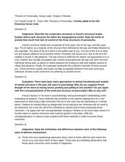 theories of personality essay george kelly s personal construct 2 pages theories of personality study guide chapter 3 review