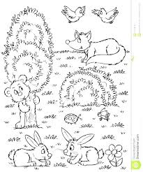 Coloring Pages Forest Animals Coloring Forest Pictures With Animals Forest Animal Coloring Pages