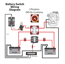 battery isolator installation question and perko dual switch perko dual battery switch at Two Battery Switch Wiring Diagram