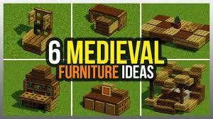 ✓ 6 Me val Furniture Ideas Minecraft