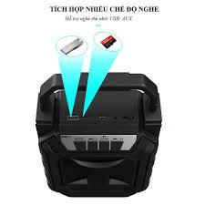 Loa Karaoke ⚡Bảo hành 6 Tháng⚡ Loa Bluetooth hỗ trợ nghe FM - Loa xách tay  nhỏ gọn có đèn led phát sáng Y3 - Loa Bluetooth