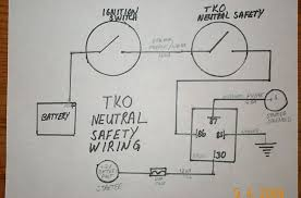 tko change over neutral safety switch question team camaro tech here is a wiring diagram i made up and am using on my tko600