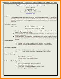 7 Montessori Teacher Resume Sample New Hope Stream Wood How To Write