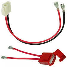 electric scooter and bicycle battery harnesses battery wiring harness for hoveround mpv5 battery pack wiring harness with fuse holder for 24 volt electric scooters premium locking tab terminals for 1 4\