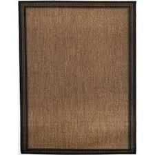border black brown 5 ft 3 in x 7 ft indoor outdoor