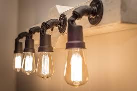 Long Bathroom Light Fixtures