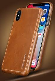 iphone x xs paris design premium leather case back cover touch to zoom