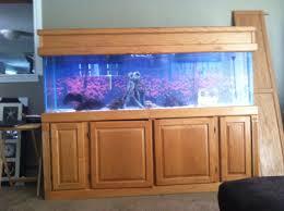 125 Gallon Aquarium Light Hood Fish Tank Stand Lights Bow Front Aquarium Fish Tank With