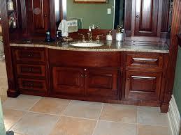 Traditional Style Cherry Wood Master Bath Vanity traditional-bathroom