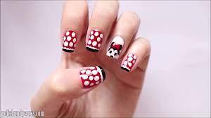 Móng tay xinh - Hướng dẫn vẽ móng tay chuột Mickey