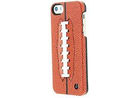 trexta 100 leather football snap on case for iphone 5 5s real lacing