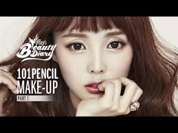 pony s beauty diary play 101 pencil makeup clean c retro makeup