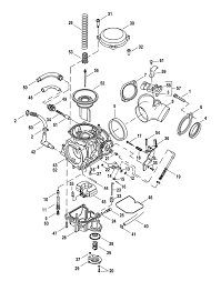 Harley davidson® cv40 carburetor assembly