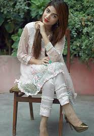 Pakistani Designer Pants Kinza Hashmi Designs For Dresses Pakistani Dress Design
