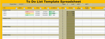 sample spreadsheet excel to do list template spreadsheet excel project management