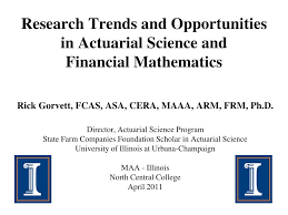 Ppt Research Trends And Opportunities In Actuarial Science And