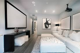theater room lighting. Another Look Of The Media Room Showcasing Comfortable Sofa And  Theater TV Along With Lighting I
