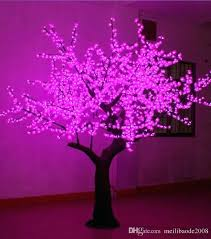 led tree lamp led tree lamp factory led simulation peach blossom lights 3 meters pink led