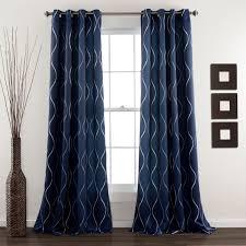 Black Patterned Curtains Amazing Inspiration Ideas