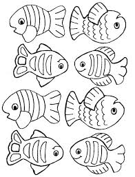 Free Fish Coloring Pages Printable Printable Coloring Page