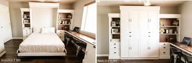 you can also find useful information and tips on how to build a murphy wall on addictedtodiy this project show you how you can turn any room into a guest