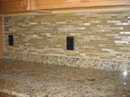 Kitchen Amusing Ideas For Kitchen Decoration Using Light Brown Interesting Kitchen Backsplash With Granite Countertops Decoration