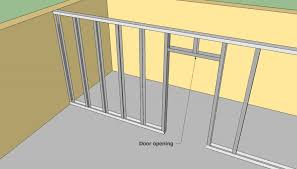 How to frame with metal studs HowToSpecialist How to Build Step