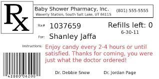 Prescription Label Template Diy Project Pill Bottle Party Favors Graduation Ideas Pill