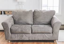 sofas with attached cushions