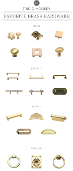 Antique Cabinet Knobs And Pulls A Roundup Of Our Favorite Brass Hardware Studio Mcgee