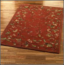 rust colored bath rugs rugs home decorating ideas x46yvb4