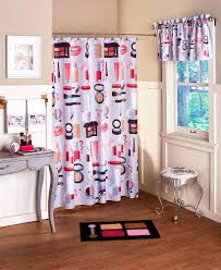 hollywood glamour makeup shower curtain hooks chic lipstick rug in sizing 819 x 1000