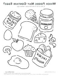 Healthy Food Coloring Pages Coloring Games Movie