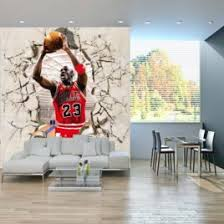 Aliexpress Buy Basketball Star Michael Jordan Gym Entrance