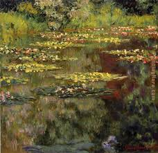 water lilies 27 painting claude monet water lilies 27 art painting