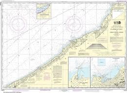 Noaa Nautical Chart 14823 Sturgeon Point To Twentymile Creek Dunkirk Harbor Barcelona Harbor