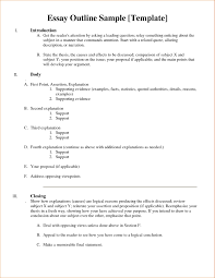 outline example for essays co outline example for essays