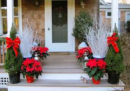 Image Outside Christmas Porch Decoration Ideas Decorating The Front Homebnc Make Your Steps Star Show Unique Furniture Outdoor Cache Crazy Image 15556 From Post Christmas Decorating The Front Porch For