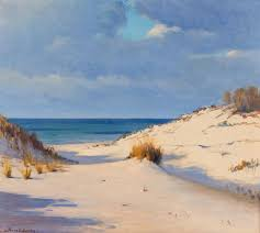 Frank Virgil Dudley, (American, 1868-1957), Dunes sold at auction ...