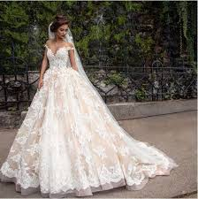 cheap 2017 lace applique princess country wedding dresses berta